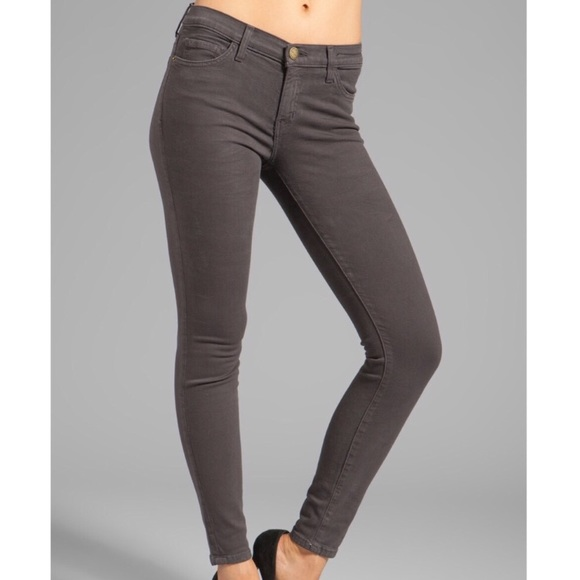 Current/Elliott Denim - Current Elliott The Ankle Skinny in Licorice